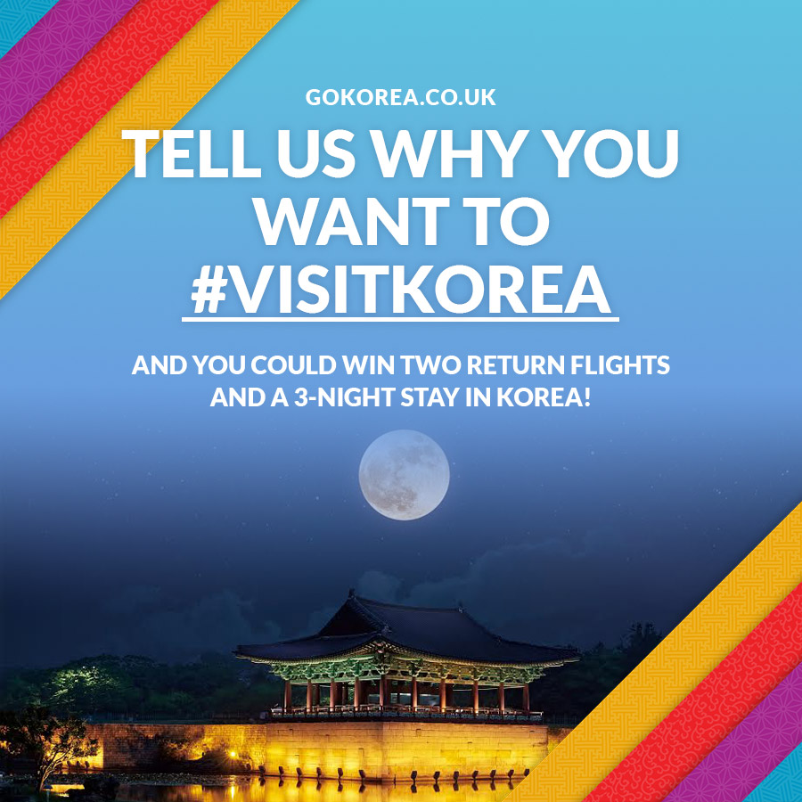 Korea Tourism Organisation promotes travel to Korea with opportunity to win flights