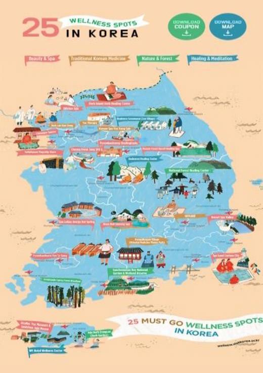 Wellness Tourism - Imagine Your Korea: Go Korea by KTO London on austria map, thailand map, great britain map, korean peninsula map, spain map, brazil map, taiwan map, iran map, costa rica map, bangladesh map, germany map, saudi arabia map, portugal map, burkina faso map, italy map, hong kong map, japan map, united arab emirates map, russia map,