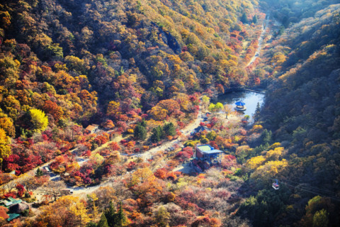 11 of Korea's best autumn hiking spots