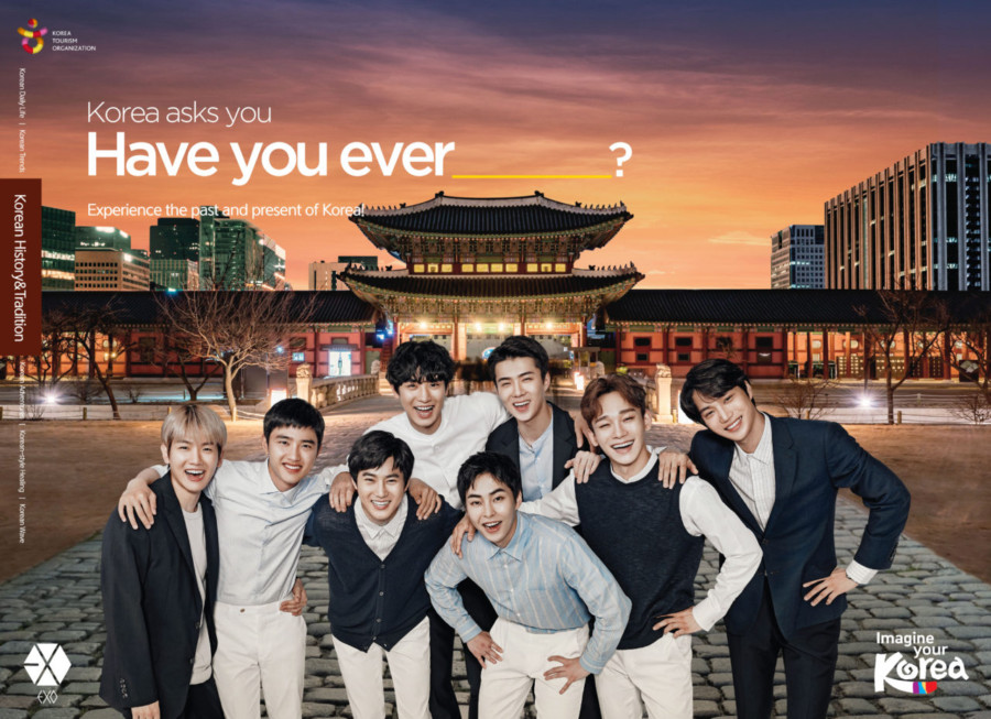 Korea Tourism Organization launches international marketing campaign starring K-Pop supergroup EXO