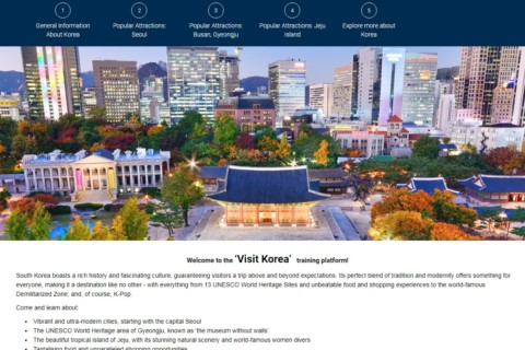 New and improved Visit Korea online training course launched