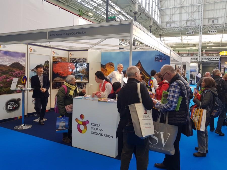 Korea Tourism Organization attending Destinations London