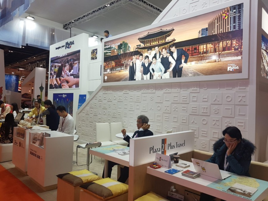 Korea Tourism Organization Exhibiting at World Travel Market 2019